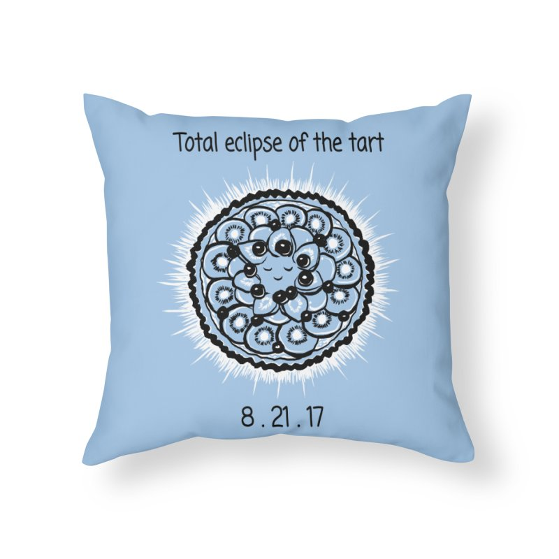 Total eclipse of the tart Home Throw Pillow by 1 OF MANY LAURENS