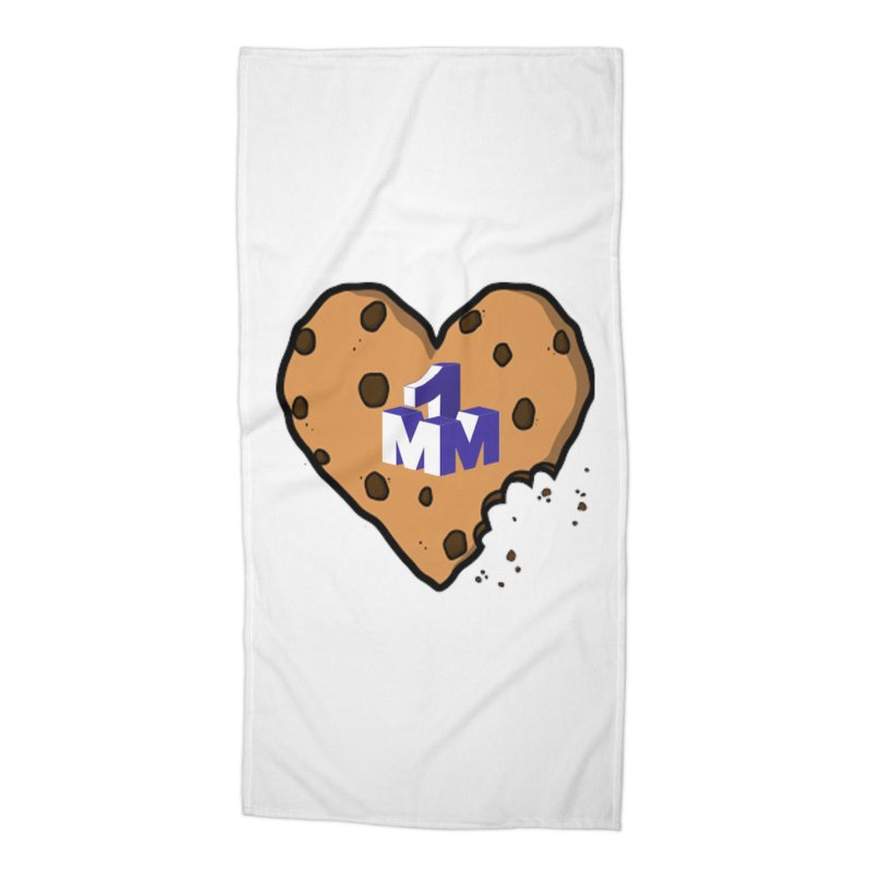 1mm Cookie Heart Accessories Beach Towel by 1madmamma's Shop