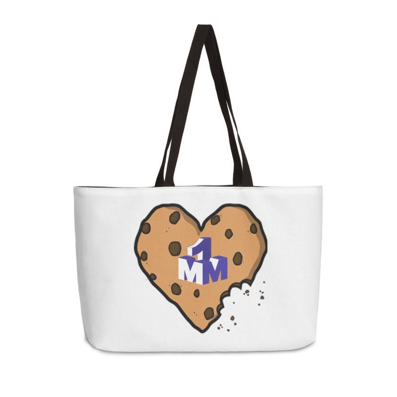 1mm Cookie Heart Accessories Weekender Bag Bag by 1madmamma's Shop