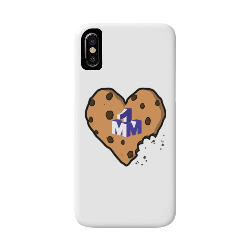 1mm Cookie Heart Accessories Phone Case by 1madmamma's Shop