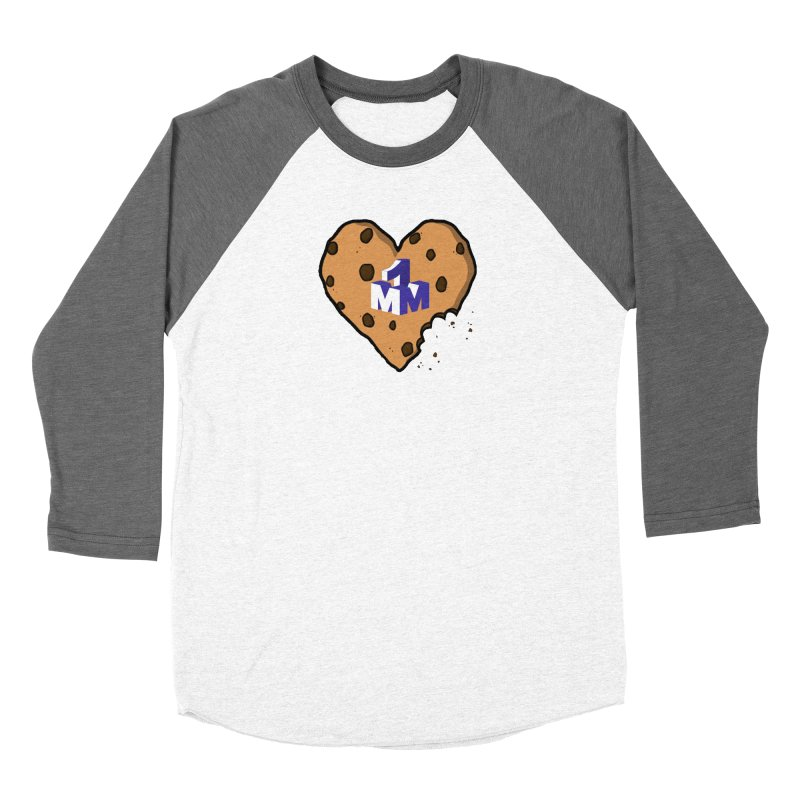 1mm Cookie Heart Women's Longsleeve T-Shirt by 1madmamma's Shop