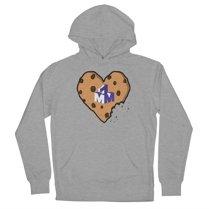 1mm Cookie Heart Women's French Terry Pullover Hoody by 1madmamma's Shop
