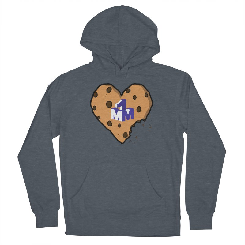 1mm Cookie Heart Men's Pullover Hoody by 1madmamma's Shop