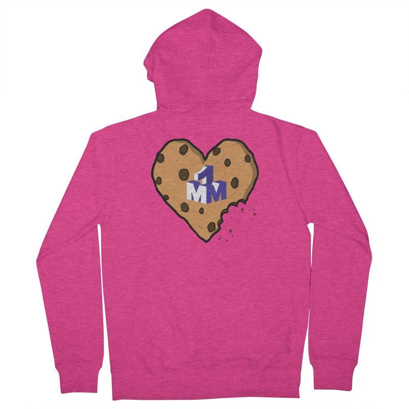 1mm Cookie Heart Women's Zip-Up Hoody by 1madmamma's Shop