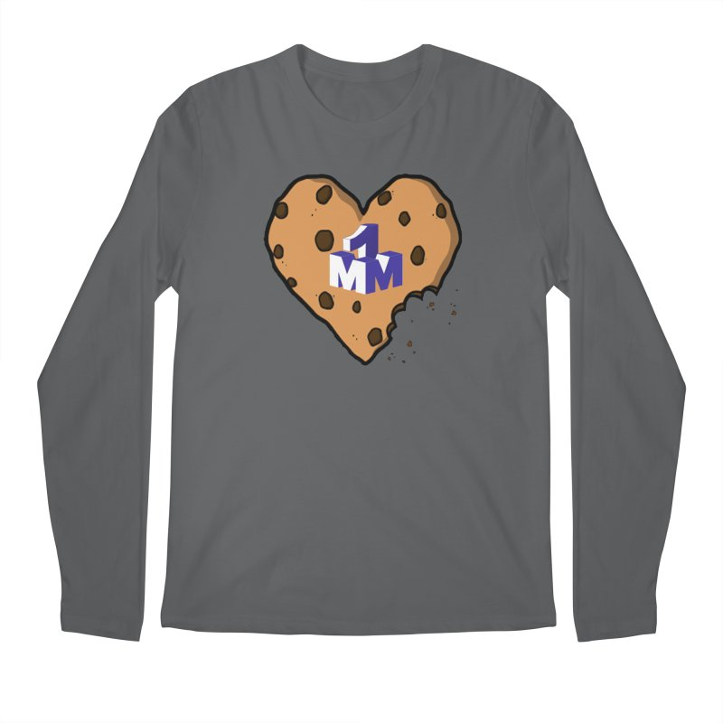 1mm Cookie Heart Men's Regular Longsleeve T-Shirt by 1madmamma's Shop