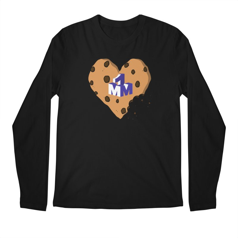 1mm Cookie Heart Men's Regular Longsleeve T-Shirt by 1madmamma's Shop