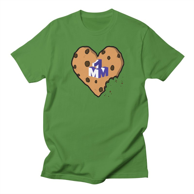 1mm Cookie Heart Women's Regular Unisex T-Shirt by 1madmamma's Shop