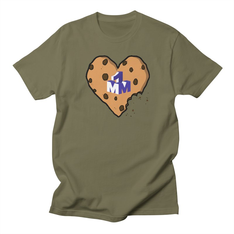 1mm Cookie Heart Women's Unisex T-Shirt by 1madmamma's Shop