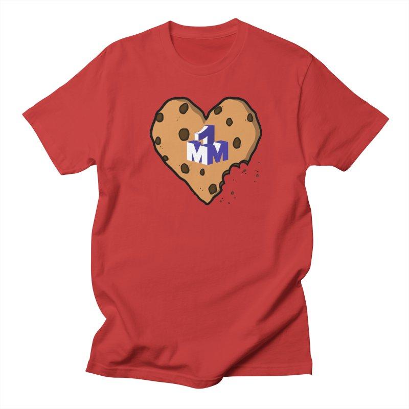 1mm Cookie Heart Women's Regular Unisex T-Shirt by 1madmamma's Shop