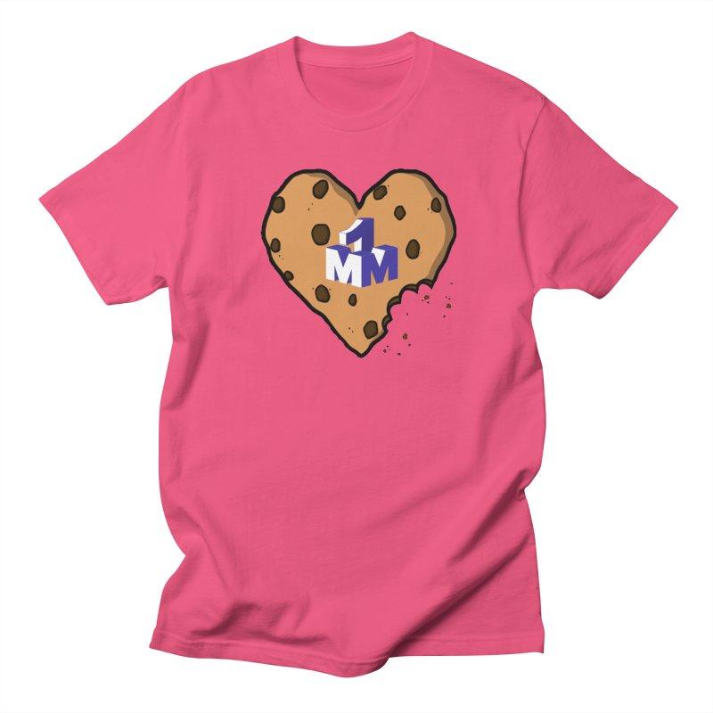 1mm Cookie Heart Men's T-Shirt by 1madmamma's Shop