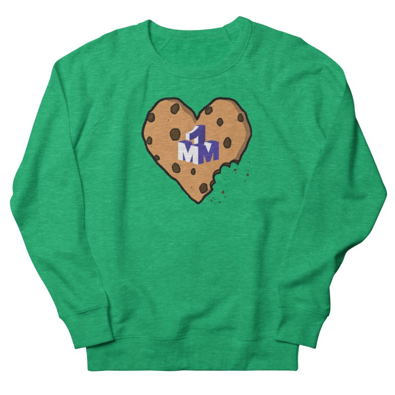 1mm Cookie Heart Men's Sweatshirt by 1madmamma's Shop