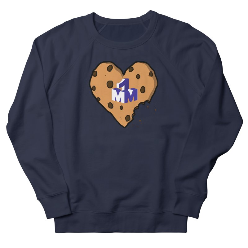 1mm Cookie Heart Men's French Terry Sweatshirt by 1madmamma's Shop