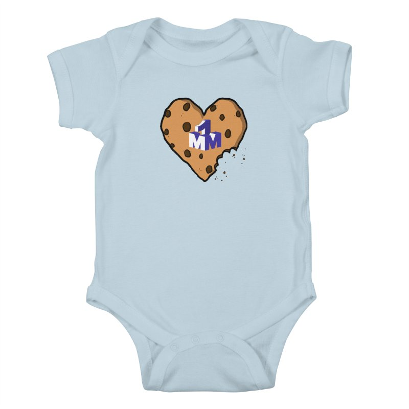 1mm Cookie Heart Kids Baby Bodysuit by 1madmamma's Shop