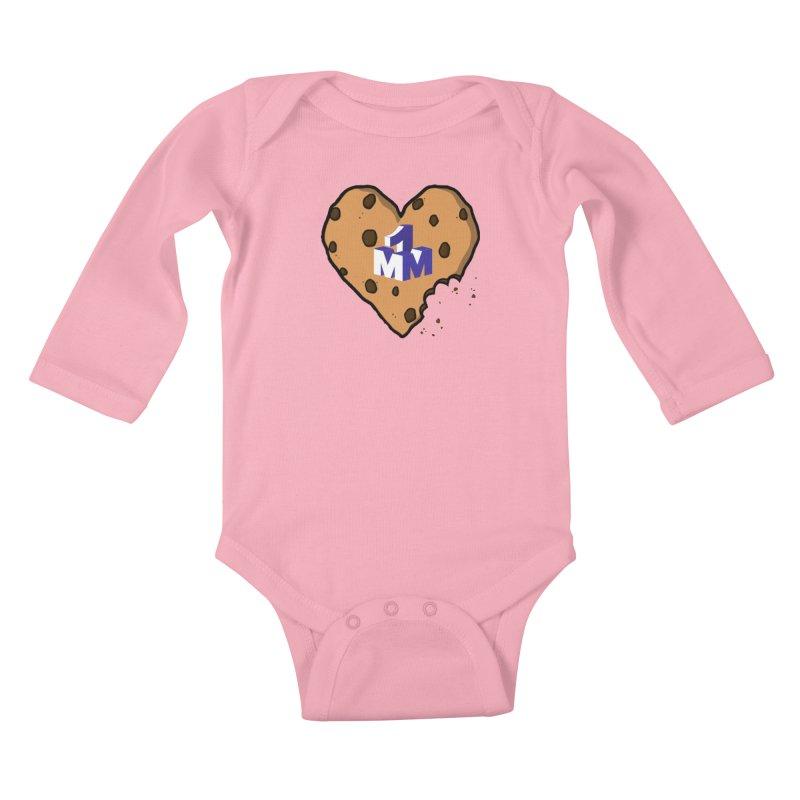 1mm Cookie Heart Kids Baby Longsleeve Bodysuit by 1madmamma's Shop