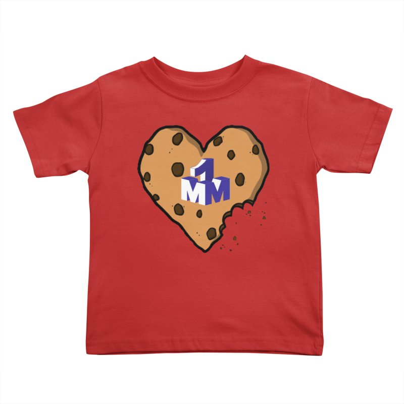 1mm Cookie Heart Kids Toddler T-Shirt by 1madmamma's Shop