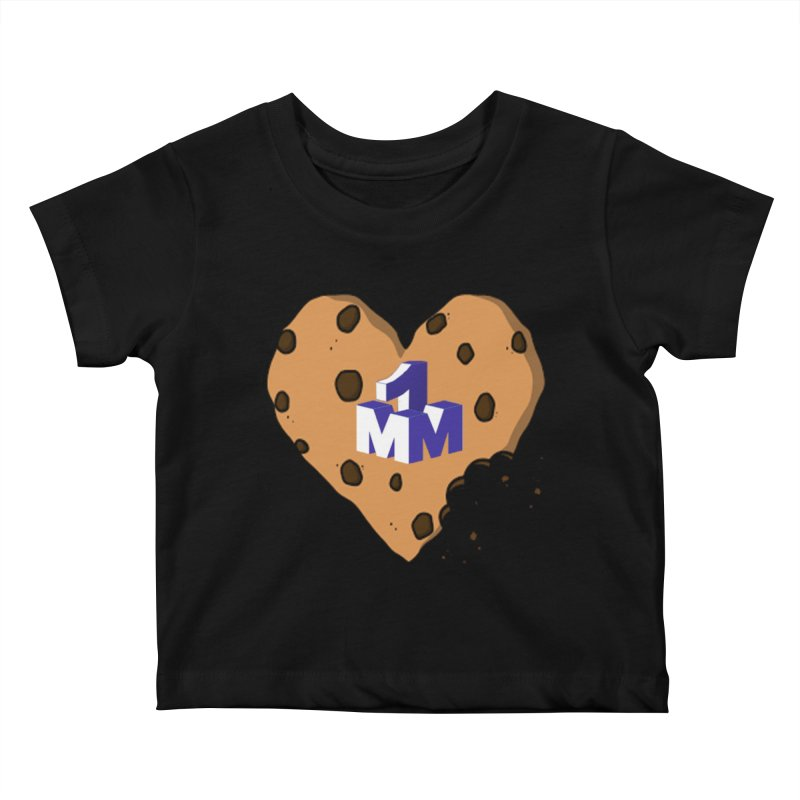 1mm Cookie Heart Kids Baby T-Shirt by 1madmamma's Shop