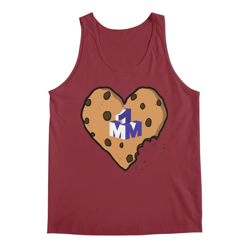 1mm Cookie Heart Men's Regular Tank by 1madmamma's Shop