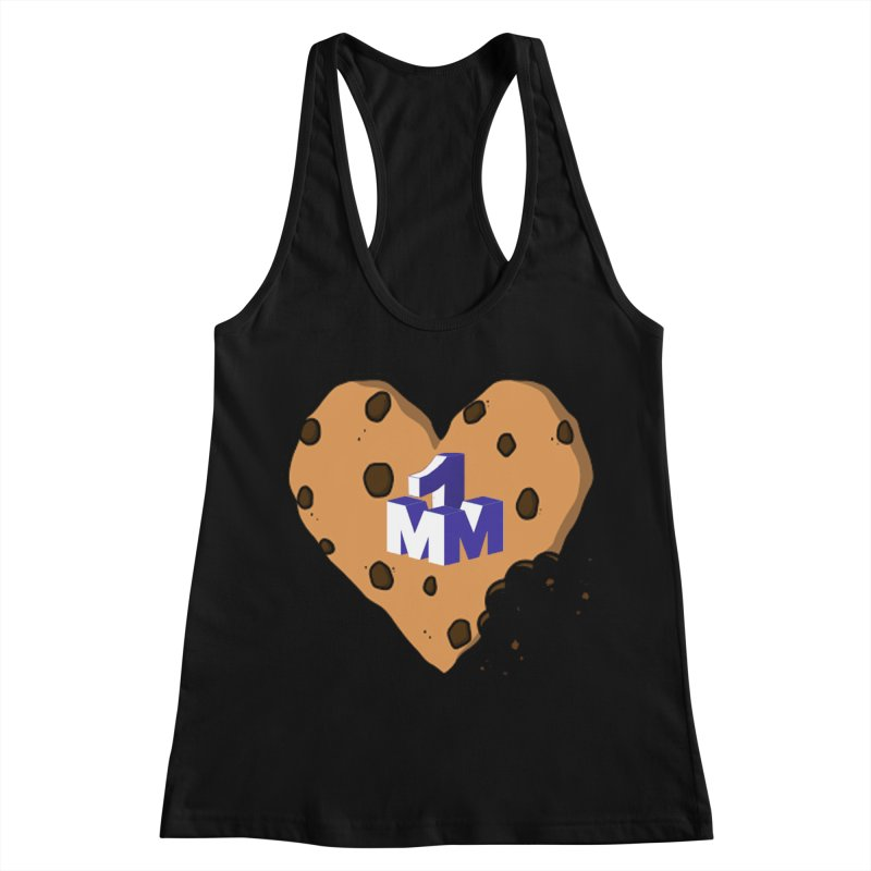 1mm Cookie Heart Women's Racerback Tank by 1madmamma's Shop