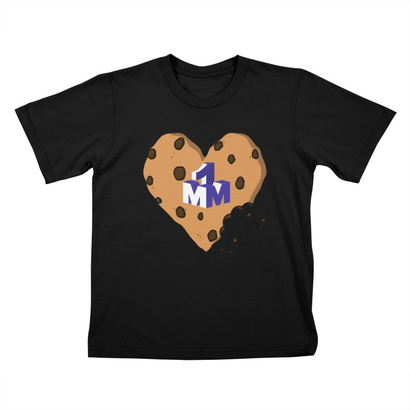 1mm Cookie Heart Kids T-Shirt by 1madmamma's Shop