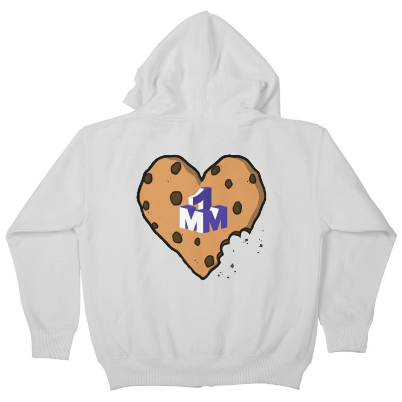 1mm Cookie Heart Kids Zip-Up Hoody by 1madmamma's Shop