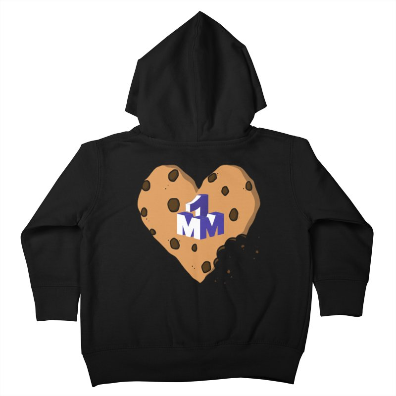1mm Cookie Heart Kids Toddler Zip-Up Hoody by 1madmamma's Shop