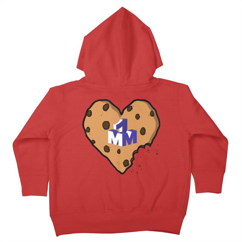 1mm Cookie Heart Kids Toddler Zip-Up Hoody by 1madmamma's Shop