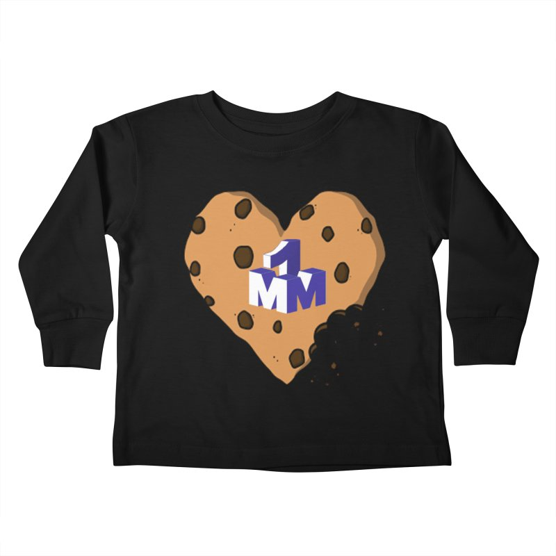 1mm Cookie Heart Kids Toddler Longsleeve T-Shirt by 1madmamma's Shop