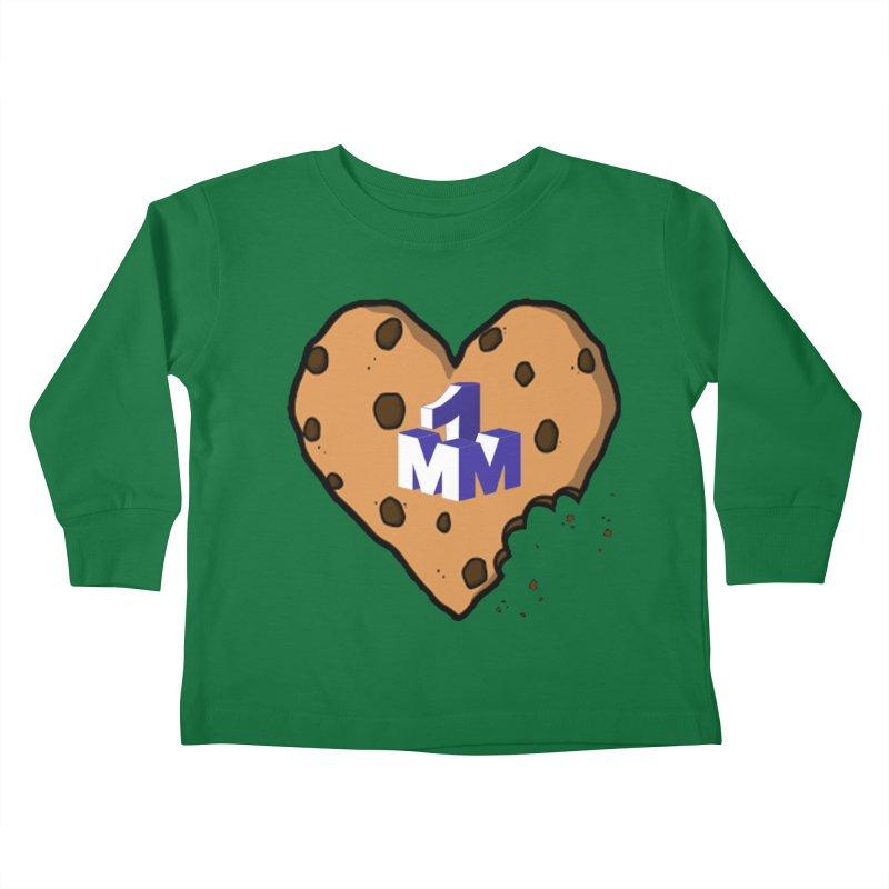 1mm Cookie Heart Kids Toddler Longsleeve T-Shirt by 1madmamma's Shop