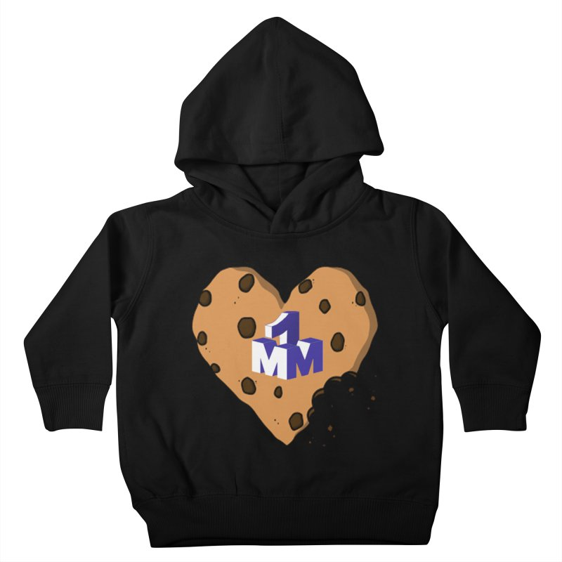 1mm Cookie Heart Kids Toddler Pullover Hoody by 1madmamma's Shop