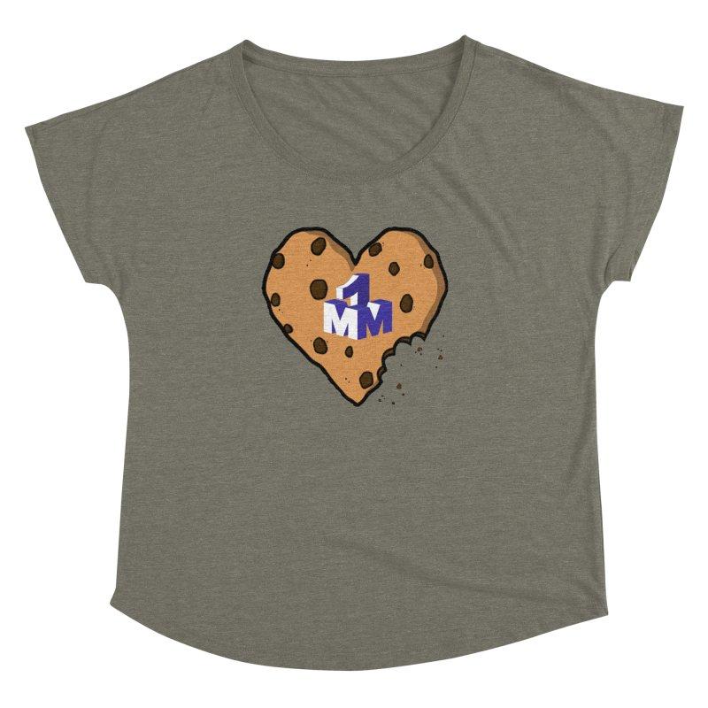 1mm Cookie Heart Women's Dolman by 1madmamma's Shop