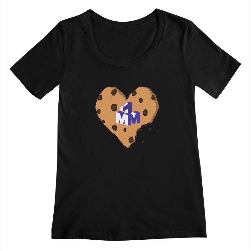 1mm Cookie Heart Women's  by 1madmamma's Shop