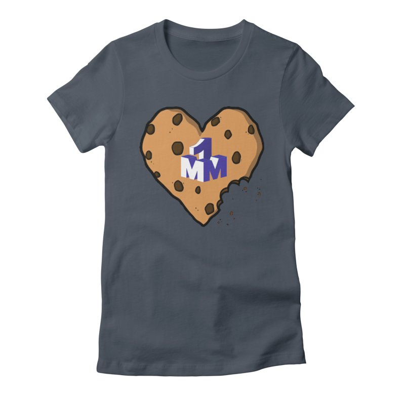 1mm Cookie Heart Women's T-Shirt by 1madmamma's Shop
