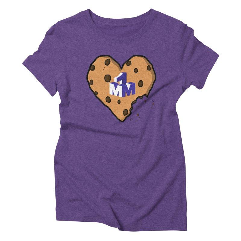 1mm Cookie Heart Women's T-Shirt by 1madmamma's Shop