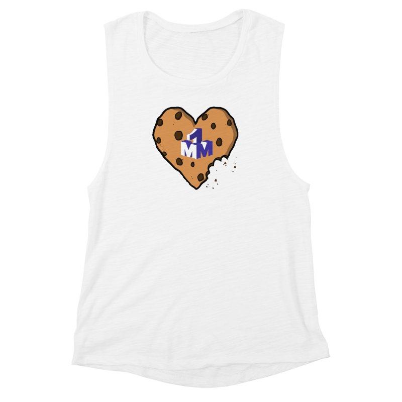 1mm Cookie Heart Women's Muscle Tank by 1madmamma's Shop