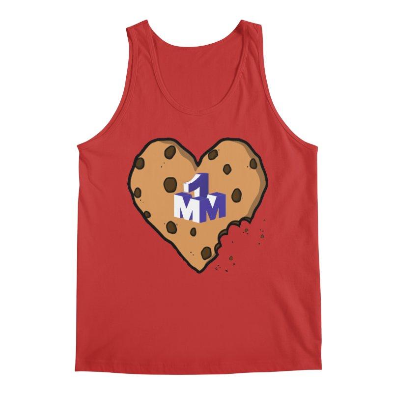 1mm Cookie Heart Men's Regular Tank by 1madmamma's Shop