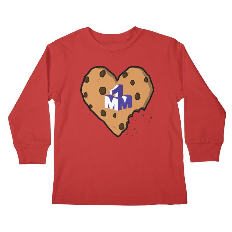 1mm Cookie Heart Kids Longsleeve T-Shirt by 1madmamma's Shop