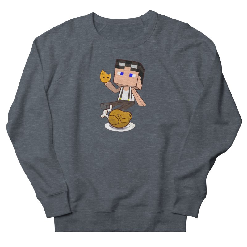 StoneFeather Men's French Terry Sweatshirt by 1madmamma's Shop