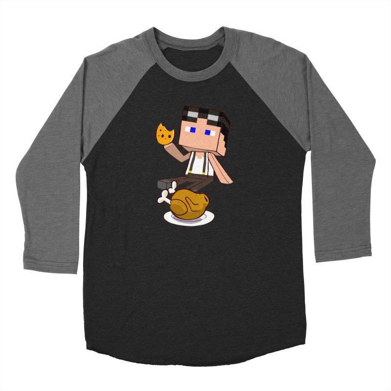 StoneFeather Men's Baseball Triblend T-Shirt by 1madmamma's Shop