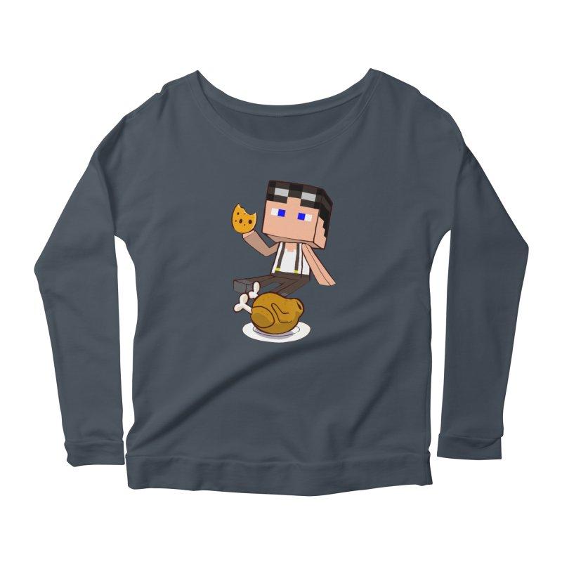 StoneFeather Women's Scoop Neck Longsleeve T-Shirt by 1madmamma's Shop