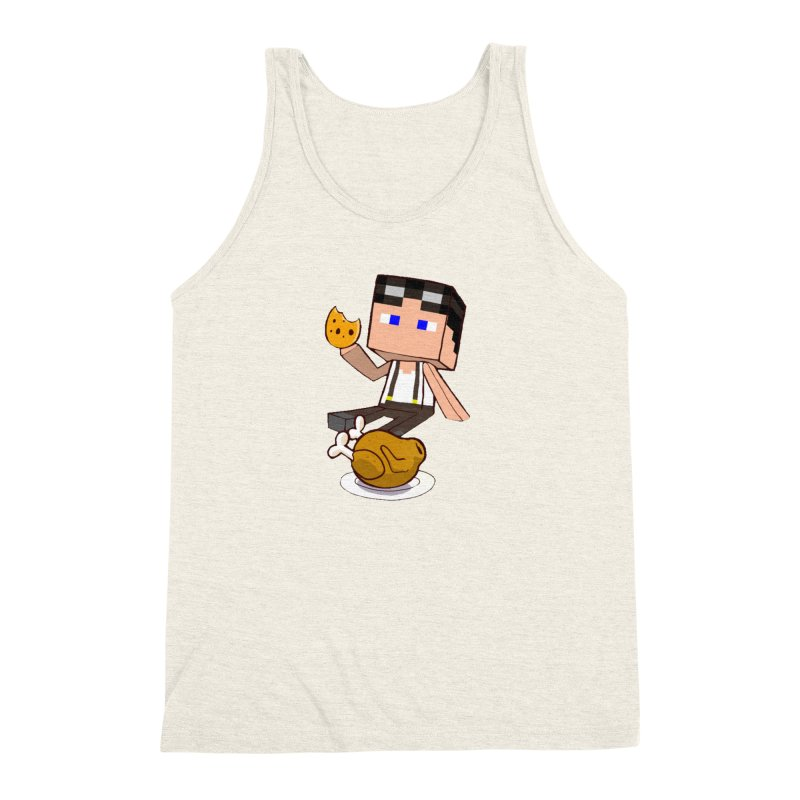 StoneFeather Men's Triblend Tank by 1madmamma's Shop