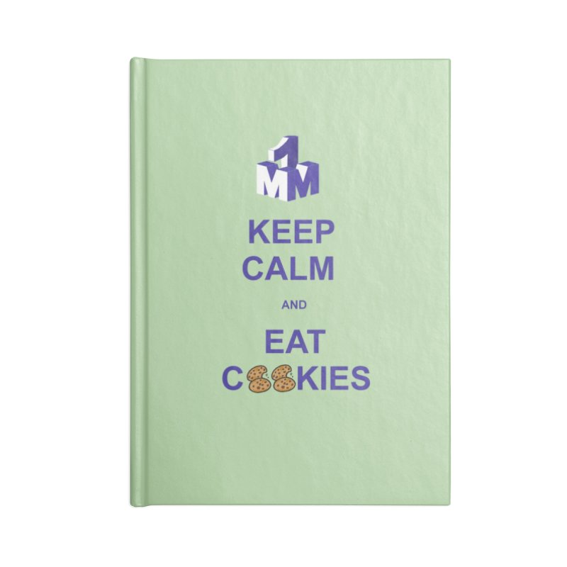 Keep Calm Accessories Lined Journal Notebook by 1madmamma's Shop