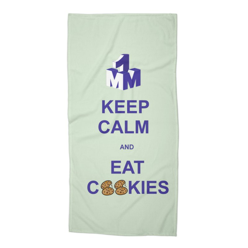 Keep Calm Accessories Beach Towel by 1madmamma's Shop