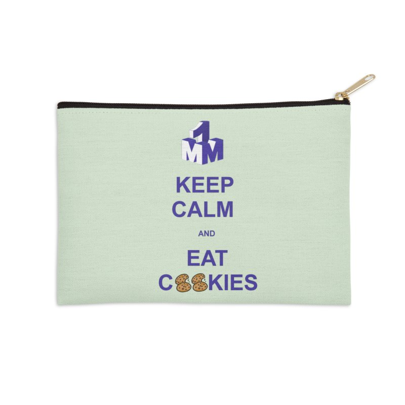 Keep Calm Accessories Zip Pouch by 1madmamma's Shop