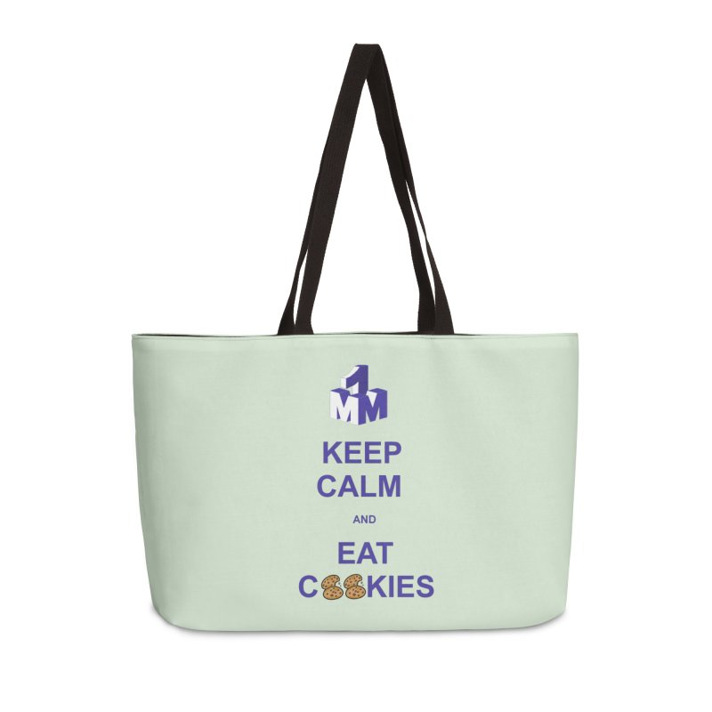 Keep Calm Accessories Weekender Bag Bag by 1madmamma's Shop