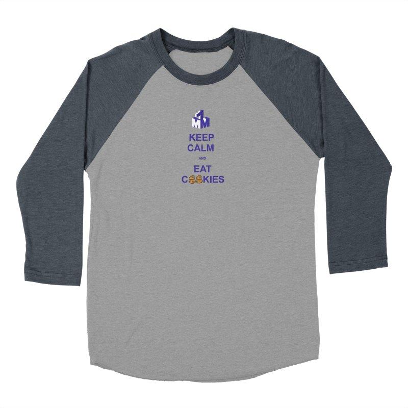 Keep Calm Women's Baseball Triblend Longsleeve T-Shirt by 1madmamma's Shop