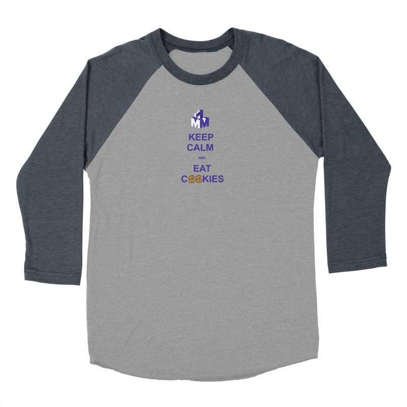 Keep Calm Men's Baseball Triblend Longsleeve T-Shirt by 1madmamma's Shop