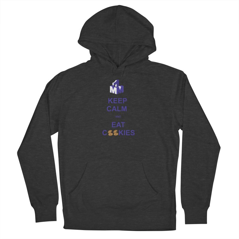 Keep Calm Men's French Terry Pullover Hoody by 1madmamma's Shop