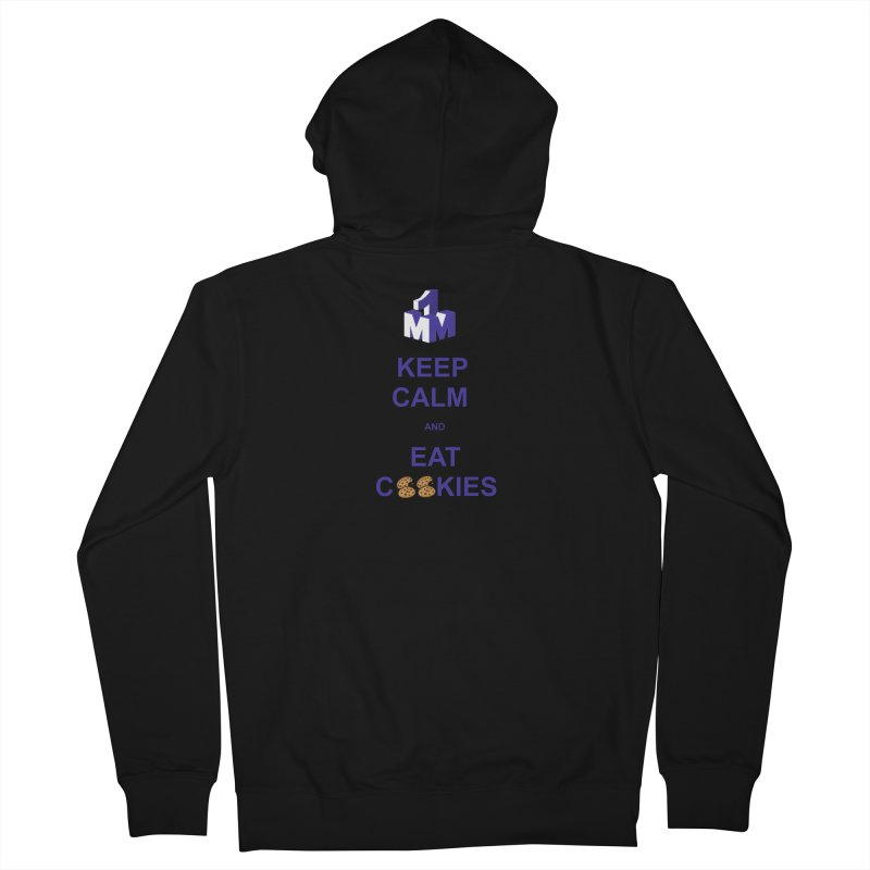 Keep Calm Men's French Terry Zip-Up Hoody by 1madmamma's Shop