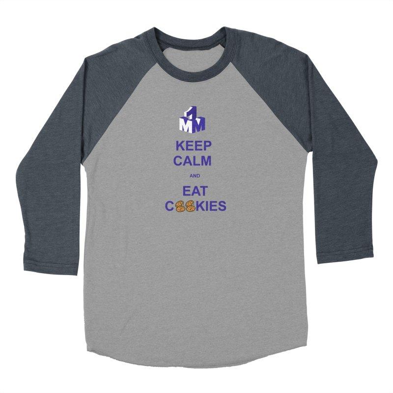 Keep Calm Men's Baseball Triblend T-Shirt by 1madmamma's Shop