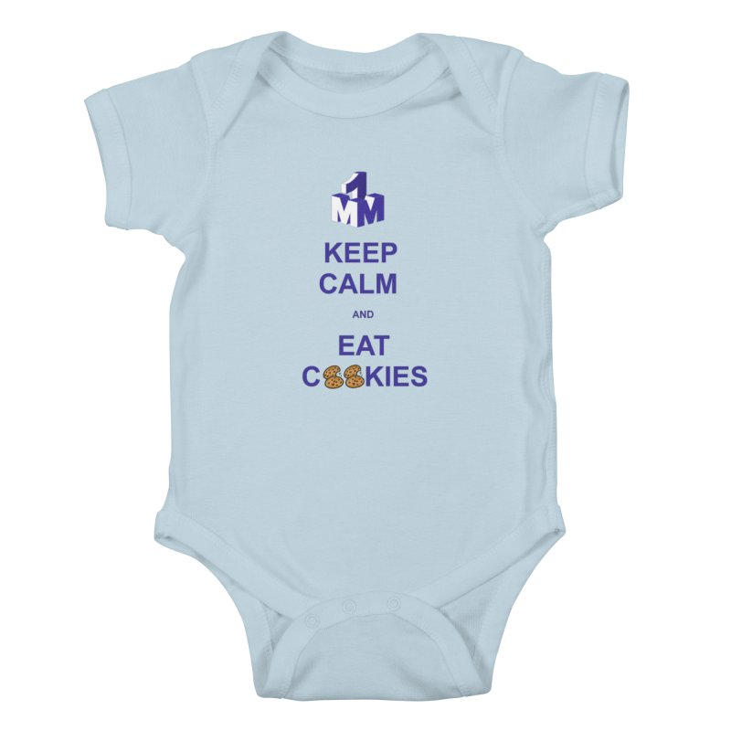 Keep Calm Kids Baby Bodysuit by 1madmamma's Shop